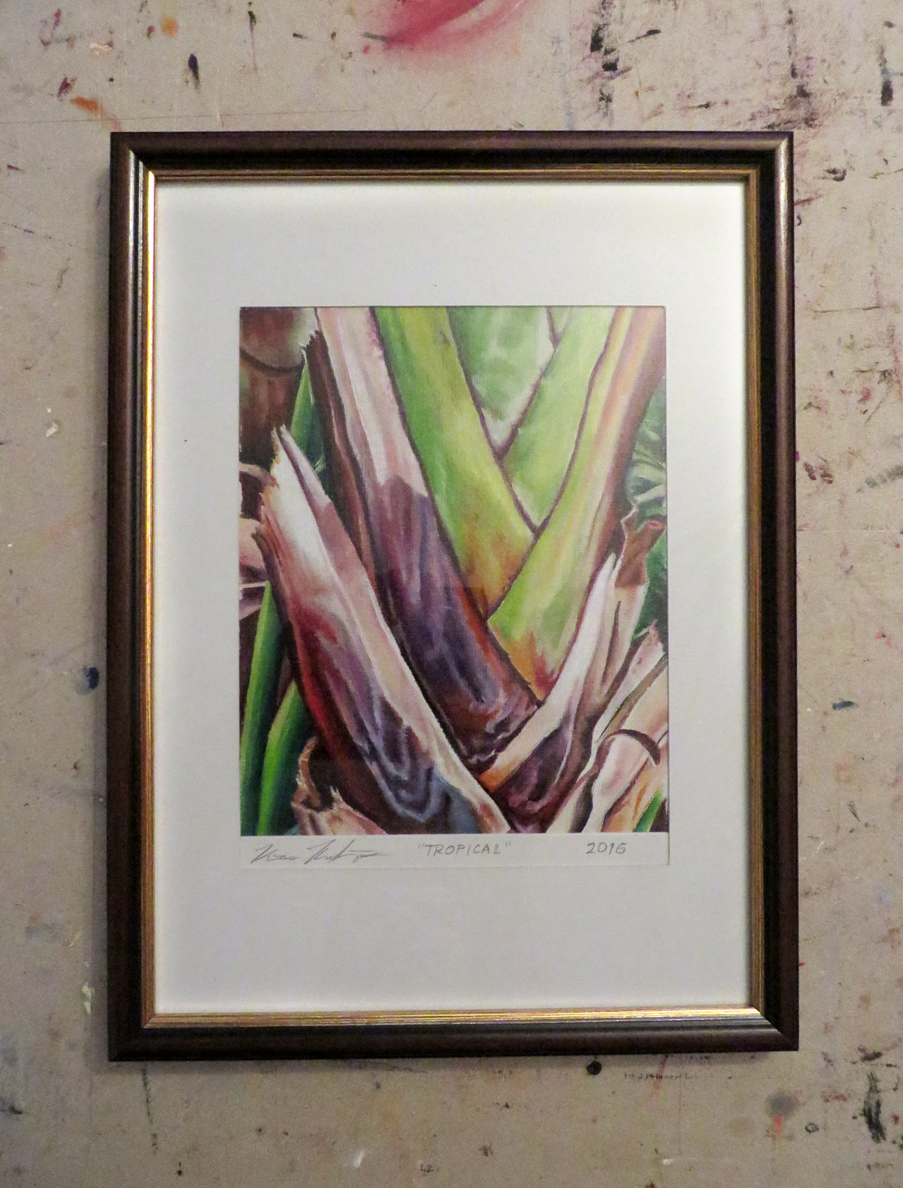 Tropical pic2 Framed